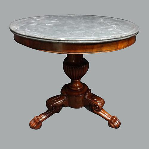 Outstanding French Marble Topped Centre Table Guirdon c.1850 (1 of 1)