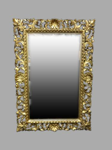 Excellent Quality Victorian Gilded Mirror (1 of 1)
