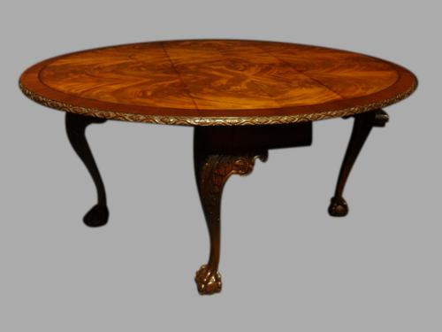 Good Quality Mahogany Drop-leaf  Dining Table (1 of 1)