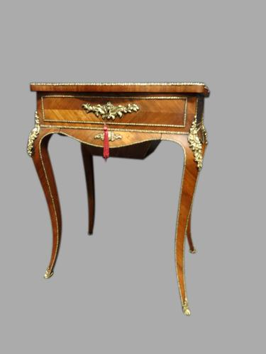 Top Quality French Kingwood Sewing Box c.1880 (1 of 1)