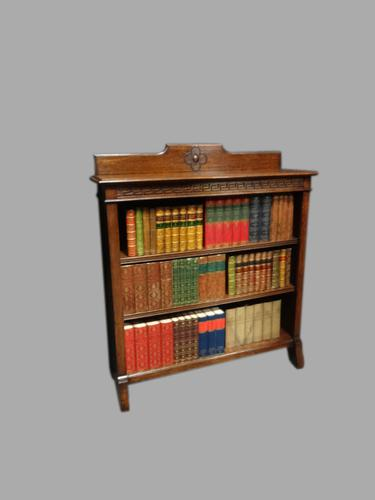 Top Quality Solid Oak Open Bookcase (1 of 1)