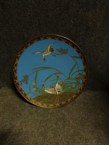 Excellent Quality Japanese Cloisonné Charger Plate (1 of 1)
