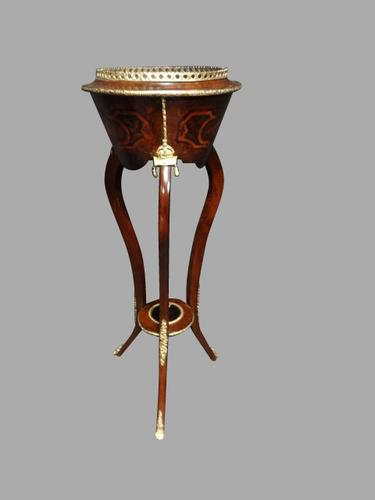Kingwood & Marquetry Planter c.1880 (1 of 1)