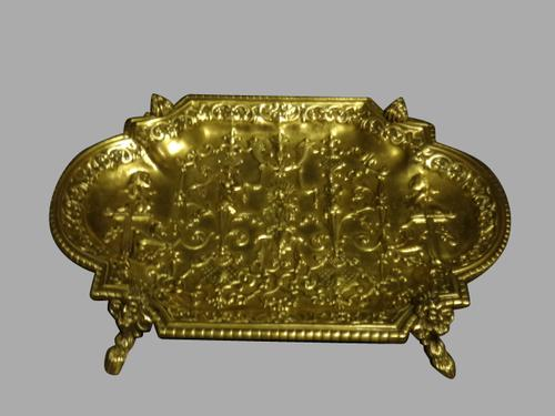 French Brass Tray c.1900 (1 of 1)