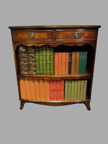 Good Mahogany Open Bookcase c.1920 (1 of 1)