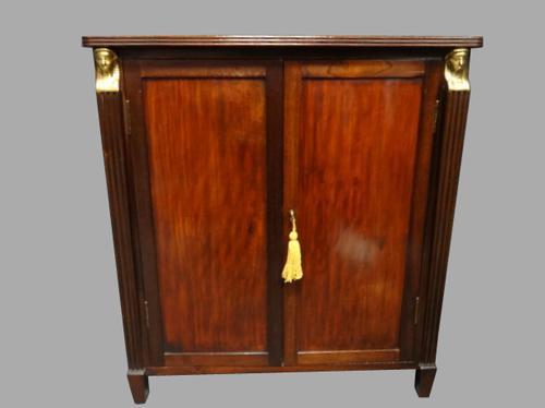 Regency Mahogany Bookcase Cabinet (1 of 1)