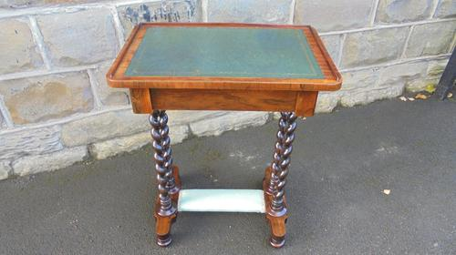 Antique Rosewood Ladies Writing Table (1 of 7)