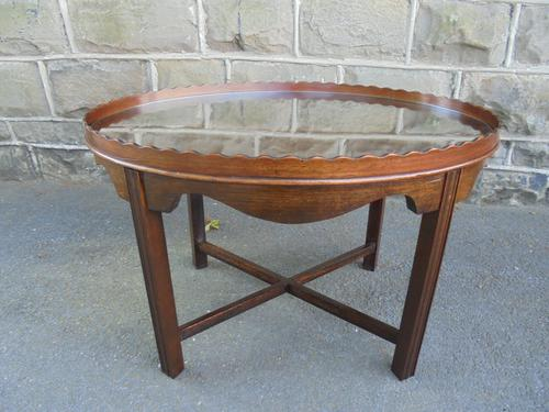 Antique Mahogany Coffee Table c.1910 (1 of 7)