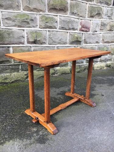 Antique Oak Coffee Table Manner of Heals (1 of 8)