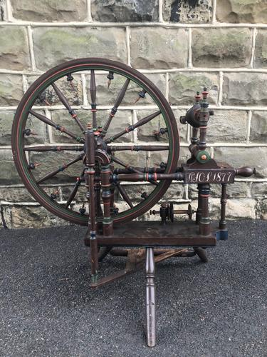 Antique Spinning Wheel (1 of 10)