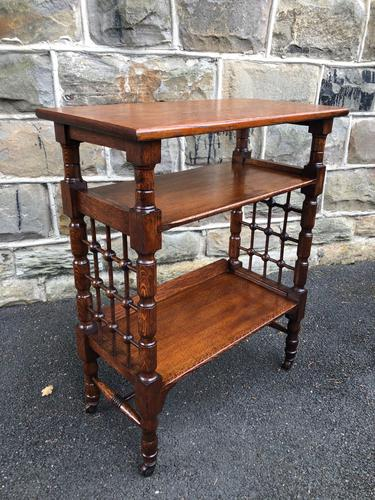 Liberty's Antique Oak Occasional Table (1 of 7)
