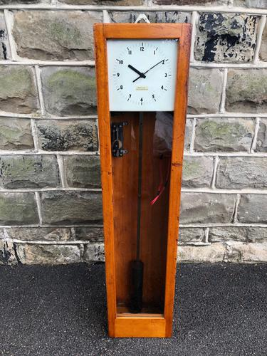 Gents Electric Factory Clock c.1930 (1 of 8)