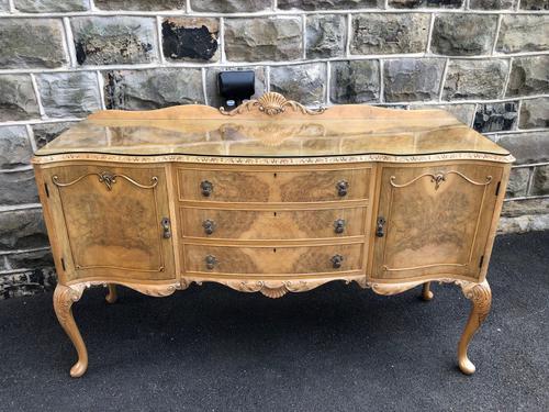 Antique Burr Walnut Sideboard by Epstein (1 of 9)