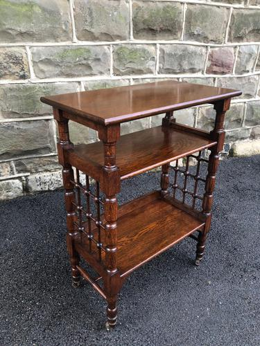 Liberty's Oak Occasional Table (1 of 8)