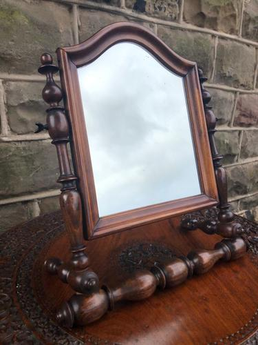 Antique Military Campaign Mirror (1 of 7)