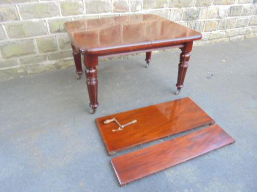 Antique Mahogany Extending Dining Table c.1860 (1 of 1)