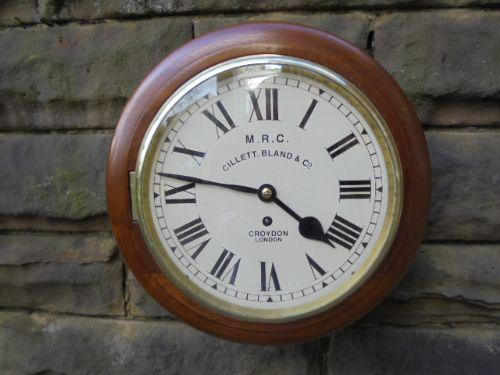 Oak Cased Fusee Dial Clock c.1900 (1 of 1)