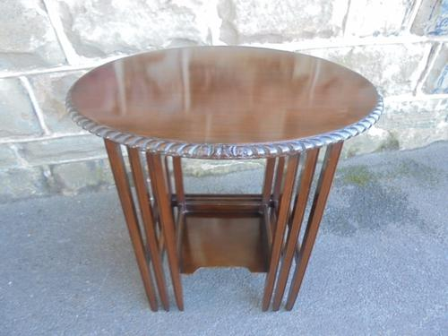 Antique Mahogany Nest of 3 Coffee Tables c.1910 (1 of 1)