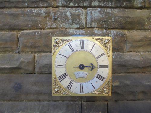 Antique Hook & Spike Wall Clock Baxter Conderton (1 of 1)