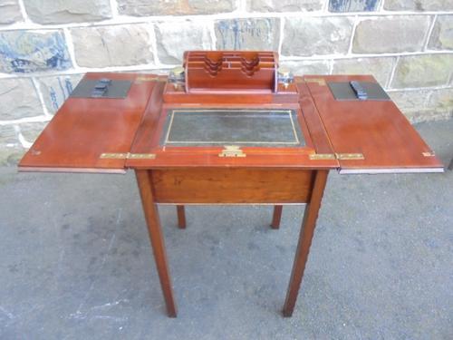 Antique Mahogany Metamorphic Writing Desk (1 of 1)