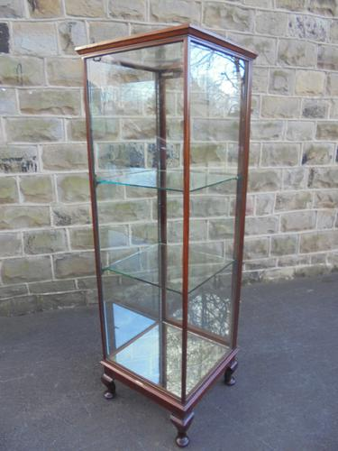 Antique Mahogany Glazed Shop Display Cabinet by Holiday & Barker (1 of 1)