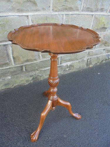 Antique Mahogany Tripod Wine Table (1 of 1)