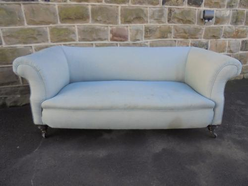 Antique English Upholstered Chesterfield Sofa c.1880 (1 of 1)