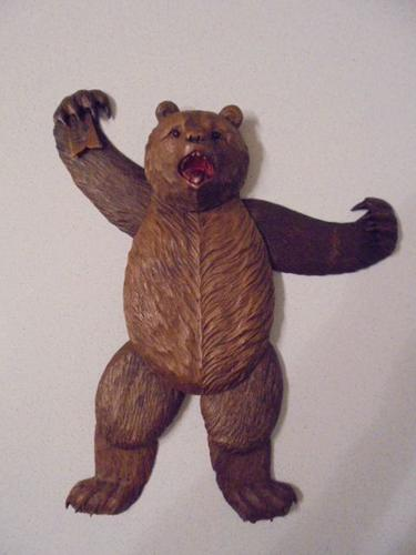 Unusual Black Forest Articulated Bear (1 of 10)