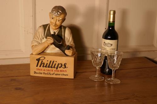 Phillips Stick a Soles & Heels Cobblers Shop Advertising Display Model (1 of 9)
