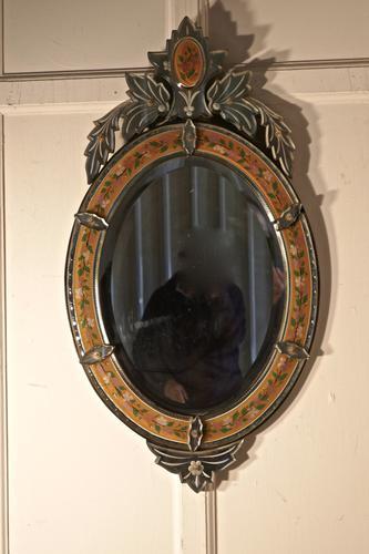 Superb Large Arts & Crafts Venetian Mirror (1 of 7)
