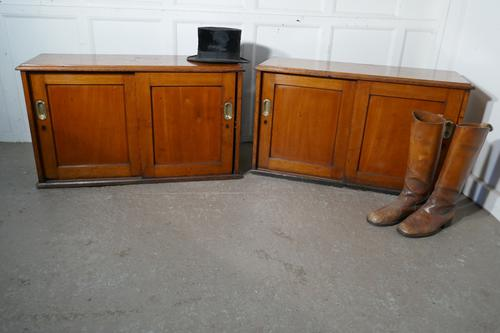 Pair of Fine Mahogany Filing Cabinet from the London & North Eastern Railway (1 of 10)