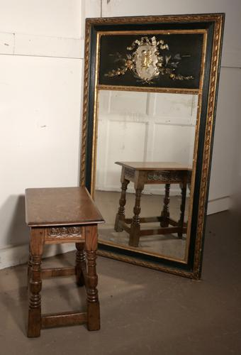 French Trumeau Style Console Mirror (1 of 7)