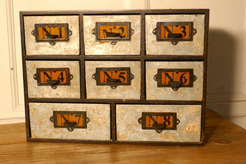 Industrial Collectors Organiser Drawers (1 of 5)