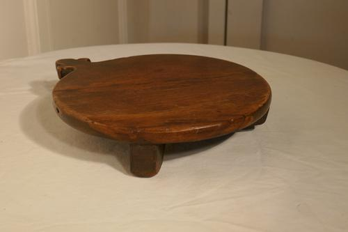 19th Century Rustic French Elm Cheese Board (1 of 5)