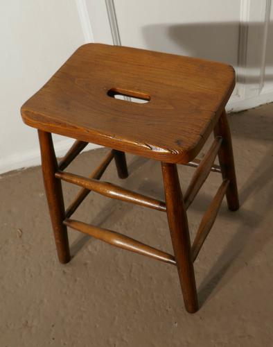 Beech & Elm Farmhouse Kitchen Stool (1 of 5)