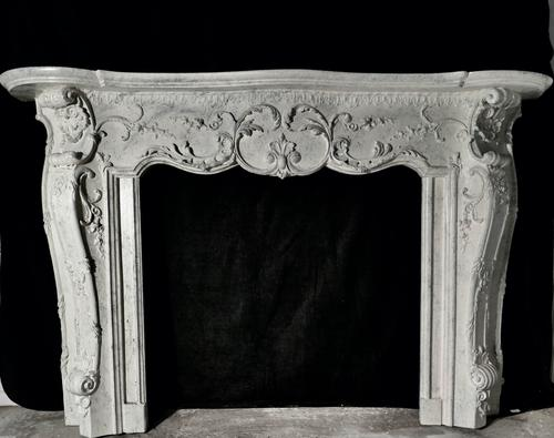 Large 19th Century Simulated Marble Adams Style Fire Place (1 of 7)