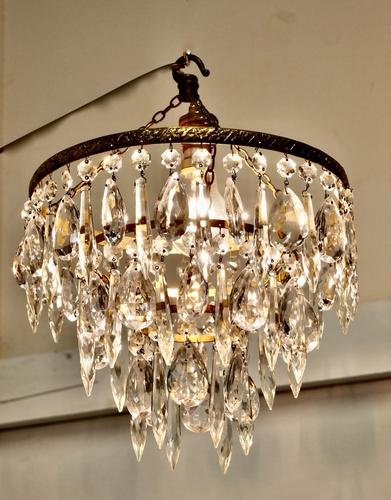 Charming Waterfall 3 Tier Pendant Chandelier (1 of 5)