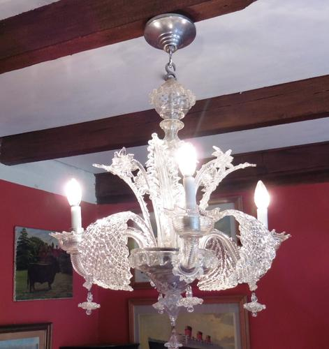 Superb Venetian Art Deco Chandelier (1 of 1)