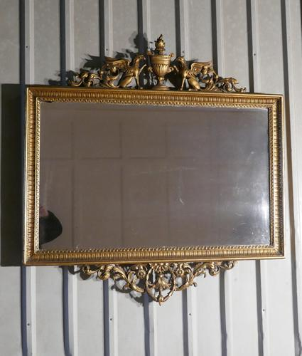A charming 19th Century Antique French Gilt Wall Mirror (1 of 1)