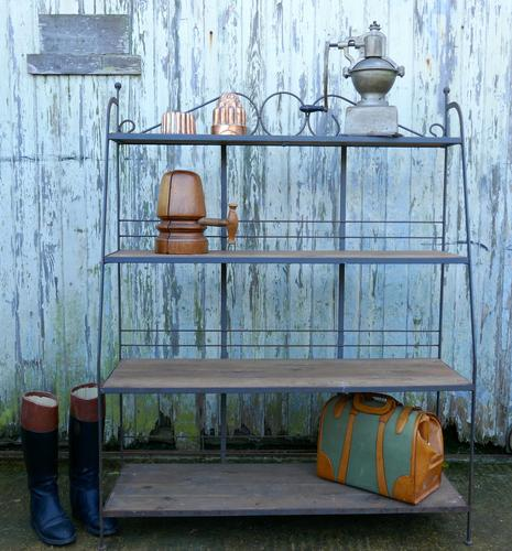 A French Wrought Iron Bakers Shop Stand (1 of 1)