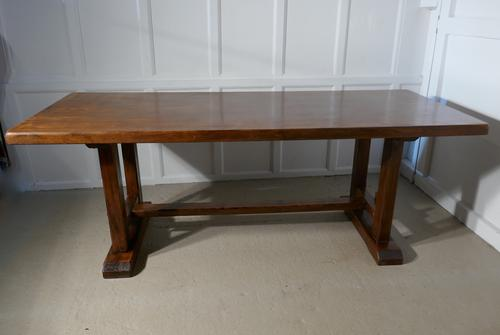 French Country Elm Refectory Table (1 of 1)