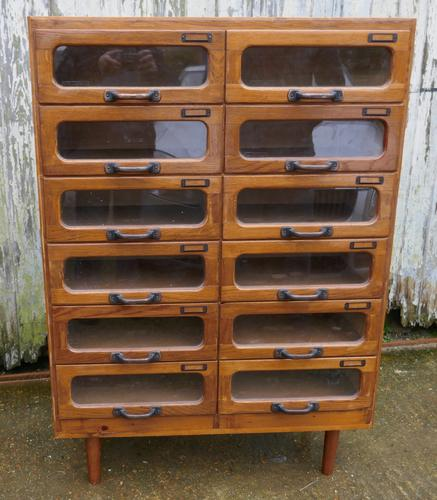Art Deco Haberdashery Cabinet, Sewing, Shop Display (1 of 1)