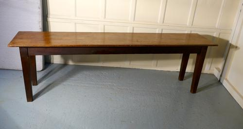 Long Narrow Farmhouse Kitchen Table (1 of 1)