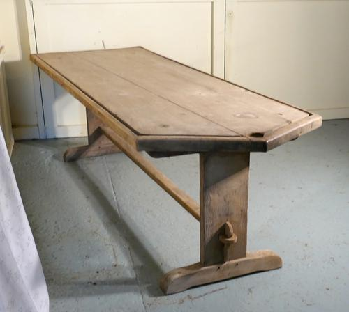 French Cheese Makers or Dairy Table c.1800 (1 of 1)