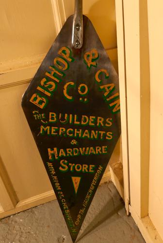 Huge Builders Trowel, Pub Decoration, Shop Trade Sign (1 of 1)