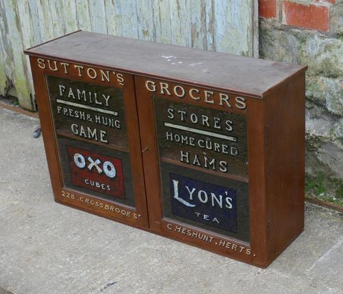 Sign Painted Grocers Cupboard, Farm Shop Country Store (1 of 1)