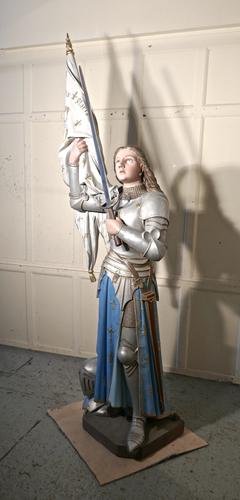 Life Size Sculpture, Joan of Arc From a French Cathedral (1 of 19)