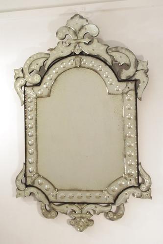 Large Venetian Mirror (1 of 12)