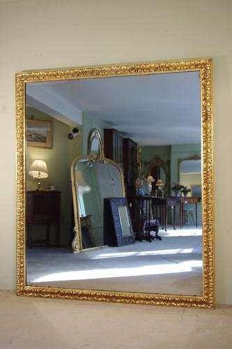 Large Giltwood Mirror c.1880 (1 of 1)
