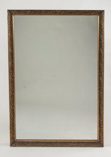19th Century French Gilt Overmantle Mirror (1 of 1)